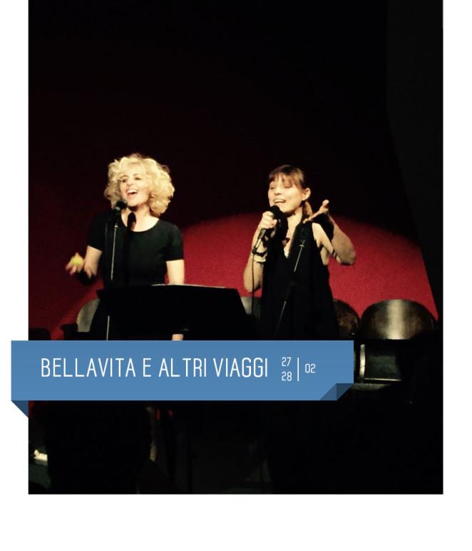 Bellavita e altri viaggi di Alessandra Faiella al Teatro Delfino dal 27 al 28 febbraio 2016. Piazza piero carnelli, Milano
