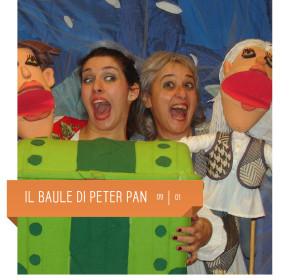 Il baule di Peter Pan della  Baracca di Monza al Teatro Delfino il 9 gennaio 2016. Spettacolo per bambini. Piazza piero carnelli, Milano