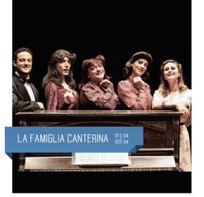 Le Sorelle Marinetti in LA FAMIGLIA CANTERINA al Teatro Delfino