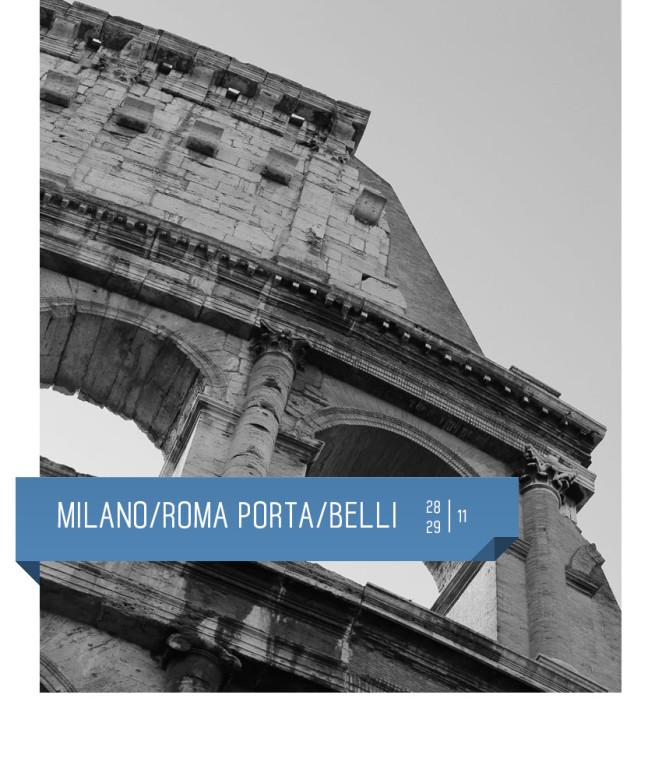 Milano/Roma Porta/Belli al Teatro Delfino dal 28 al 29 novembre 2015. Piazza piero carnelli, Milano