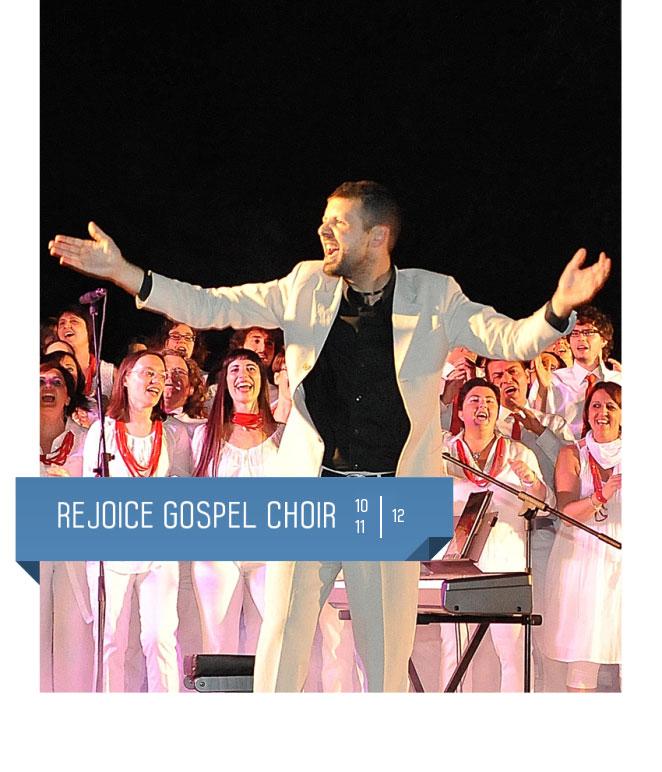 Rejoice Gospel Choir al Teatro Delfino dal 10 all'11 dicembre 2015. Milano, Piazza Piero Carnelli