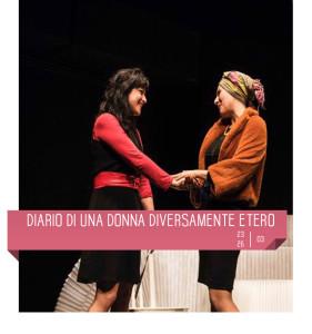 """Le Brugole al Teatro Delfino con """"Diario di una  donna diversamente etero"""" dal 23 al 26 marzo 2017"""