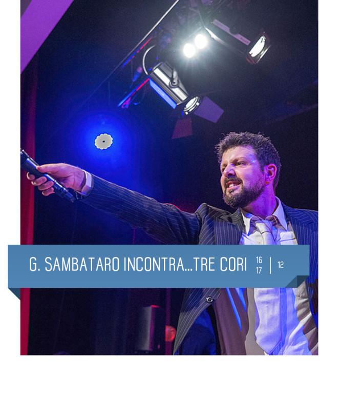 La magia del gospel al Teatro Delfino di Milano. 16 e 17 dicembre 2016. Dirige Gianluca Sambataro