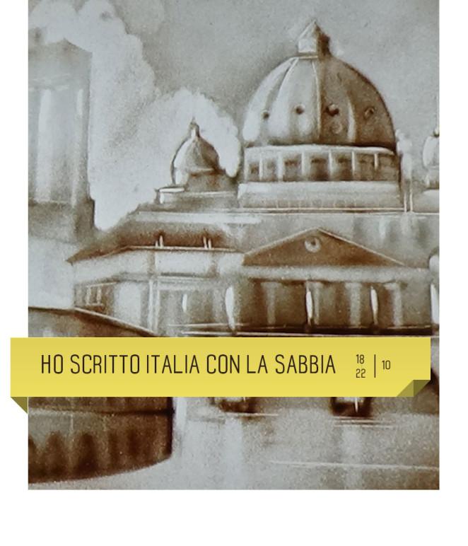 Spettacolo di Sand Art al Teatro Delfino.  Di e con Eka. Dal 18 al 22 ottobre.