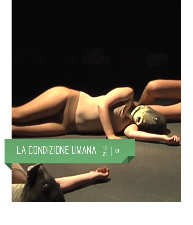 La condizione umana dal 18 al 21 gennaio al teatro delfino di Milano. Con Martino Iacchetti Compagnia teatrale oltreunpo'