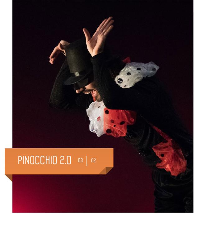 Pinocchio 2.0: spettacolo per bambini al teatro Delfino. 3 febbraio 2018.