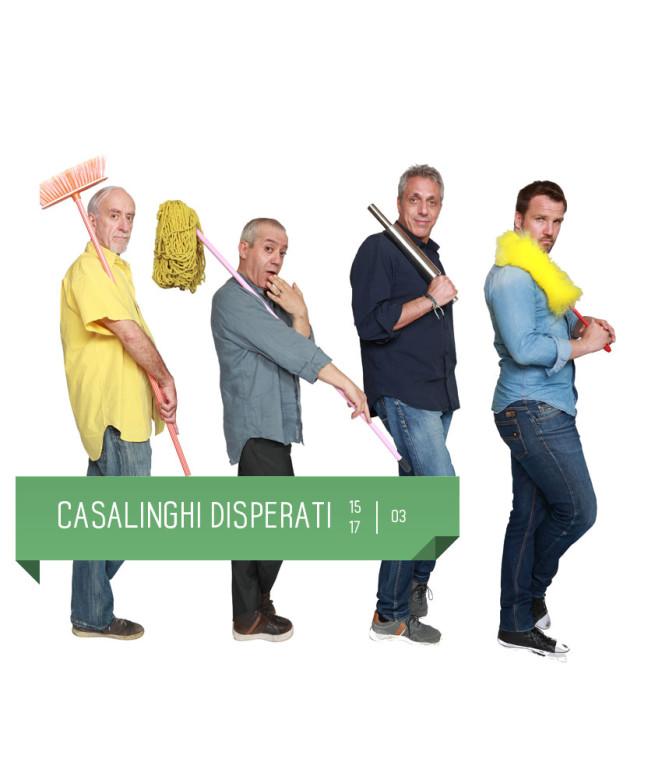 Commedia esilarante con Nicola Pistoia, Gianni Ferreri, Max Pisu, Danilo Brugia. Al Teatro Delfino di Milano dal 15 al 17 marzo.