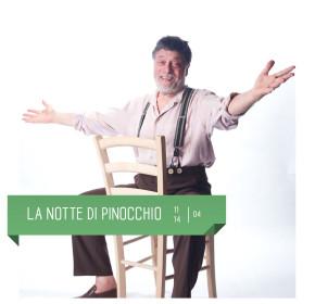 Carlo Valli in La notte di Pinocchio, al Teatro Delfino dall'11 al 14 aprile.