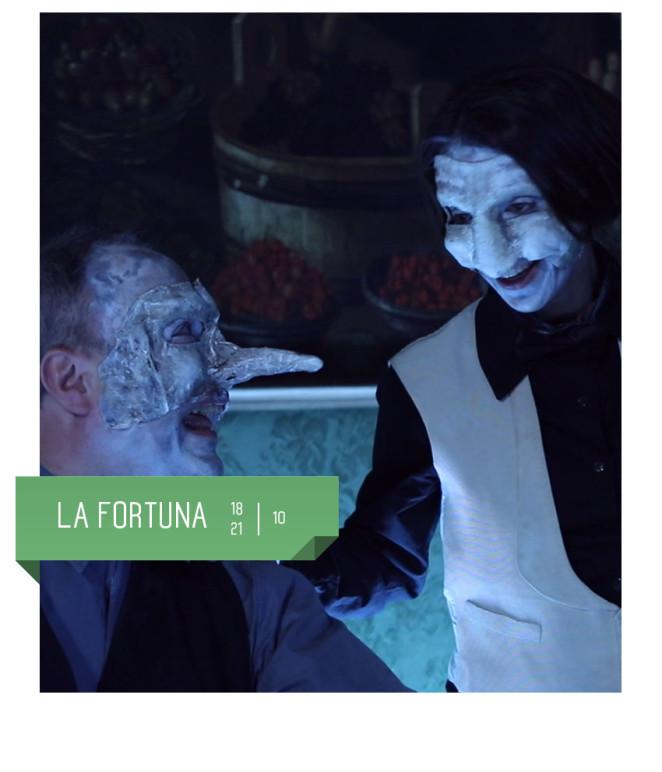 La Fortuna al Teatro Delfino di Milano dal 18 al 21 ottobre.