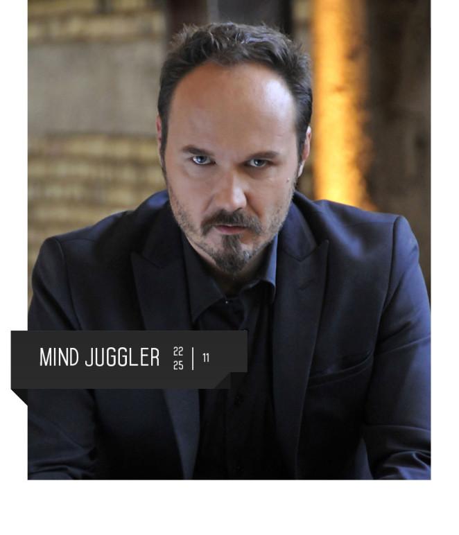 Francesco Tesei, il mentalista, al teatro delfino di milano dal 22 al 25 novembre.