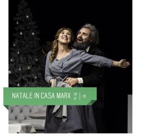 Natale in casa Marx al teatro delfino 20 e 21 febbraio. Regia di enzo iacchetti