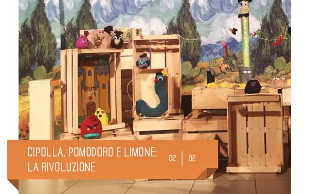 Spettacolo per bambini che omaggia il fantastico mondo di Gianni Rodari. Il 2 febbraio al teatro delfino