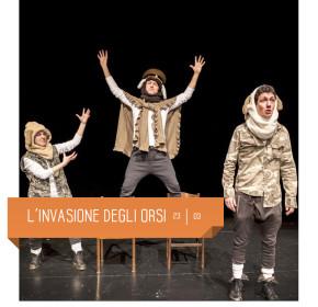 Spettacolo per bambini dai 3 agli 8 anni. Teatro Delfino di Milano, 23 marzo 2019.