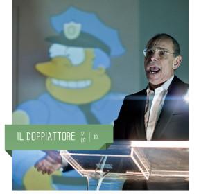 Angelo Maggi in IL DOPPIATTORE al teatro delfino di Milano a ottobre 2019