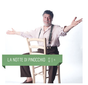 La Notte di Pinocchio con Carlo Valli al Teatro Delfino dal 7 al 10 novembre  2019.