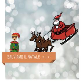 """Spettacolo per bambini """"Salviamo il Natale"""" al Teatro Delfino il 14 dicembre 2019"""