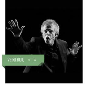 VEDO BUIO di Alberto Patrucco al Teatro Delfino il 16 maggio 2020