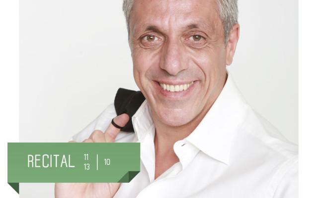 Max Pisu in Recital al Teatro Delfino di Milano  dall'11 al 13 ottobre 2019